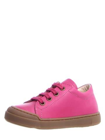 Naturino Leren sneakers fuchsia