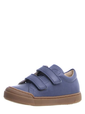 Naturino Skórzane sneakersy w kolorze niebieskim