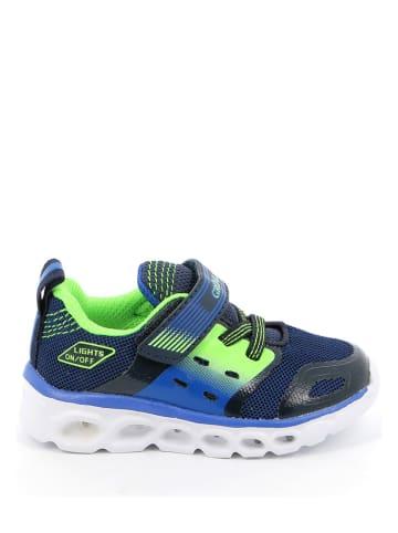 Grünland Sneakers donkerblauw/groen