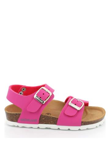 Grünland Sandały w kolorze różowym