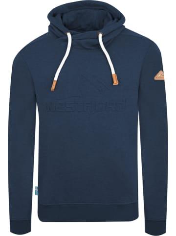 "Westfjord Sweatshirt ""Askja"" donkerblauw"