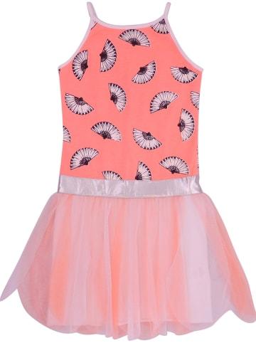 """Lofff Sukienka """"Aimee"""" w kolorze pomarańczowo-białym"""