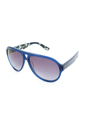 Karl Lagerfeld Herren-Sonnenbrille in Blau/ Lila