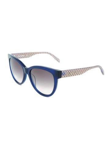 Karl Lagerfeld Dameszonnebril blauw-crème/grijs