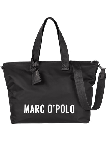 Marc O'Polo Torebka w kolorze czarnym - 24 x 17 x 7 cm