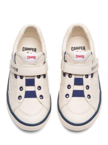 """Camper Skórzane sneakersy """"Calzado"""" w kolorze kremowym"""