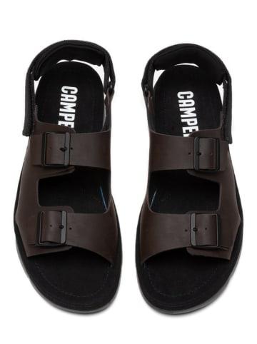 "Camper Leren sandalen ""Oruga"" bruin"