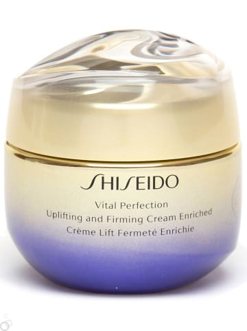 """Shiseido Gesichtscreme """"Vital Perfection Uplifting And Firming Enriched"""", 50 ml"""