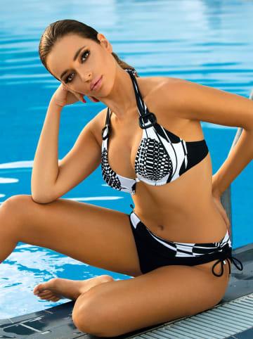 Meriell Club Bikini w kolorze czarno-białym