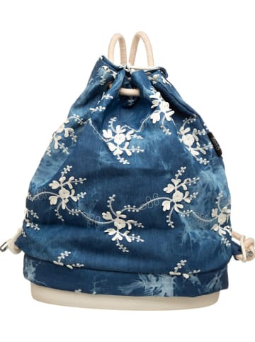 "O Bag Rugzak ""Soft 50"" blauw - (B)30 x (H)40 x (D)13 cm"