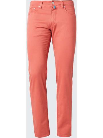 Pierre Cardin Spodnie - Regular fit - w kolorze koralowym