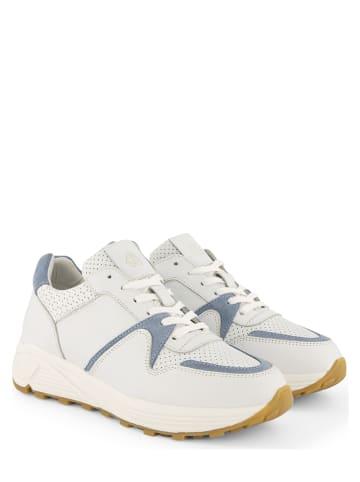 """NoGRZ Leder-Sneakers """"B.Latrobe"""" in Weiß"""