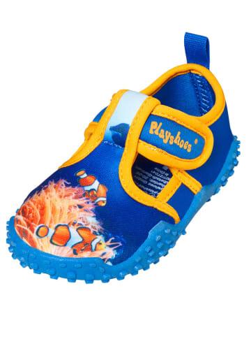 Playshoes Zwemschoenen blauw/meerkleurig