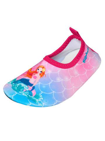 Playshoes Zwemschoenen lichtroze/lichtblauw