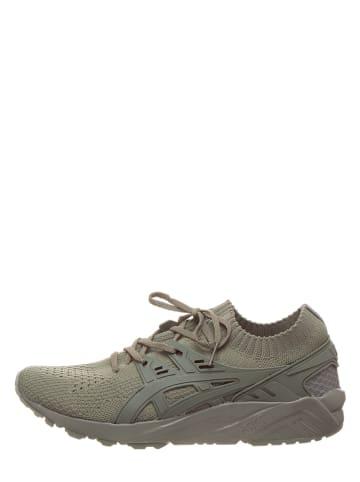 "Asics Sneakersy ""Gel-Kayano Trainer Knit"" w kolorze khaki"