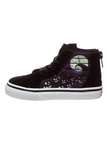 """Vans Leren sneakers """"SK8-Hi Zip"""" zwart"""