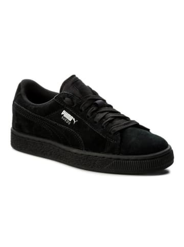 """Puma Leren sneakers """"Suede"""" zwart"""