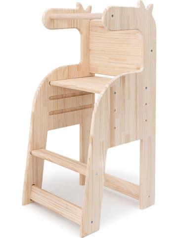 """Madre Selva Kids Krzesełko """"Natural"""" w kolorze beżowym do karmienia"""