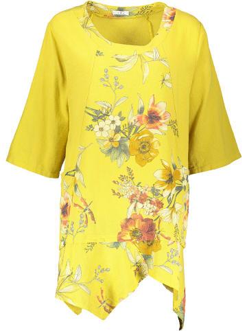 Linen Factory Tunika w kolorze żółtym