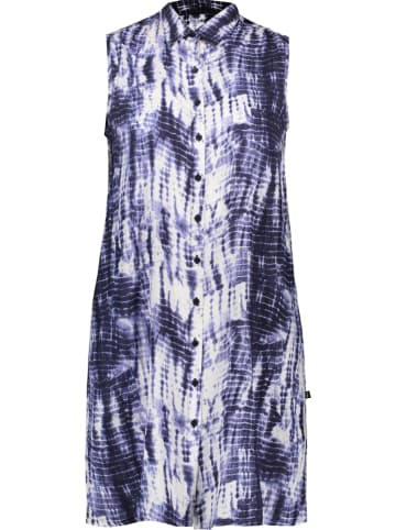 """LTB Sukienka """"Cedino"""" w kolorze granatowo-białym"""