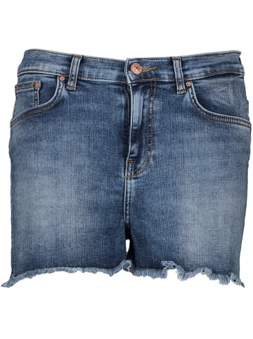 """LTB Spijkershort """"Layla"""" - high rise - donkerblauw"""