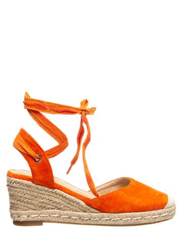 Sixth Sens Espadryle w kolorze pomarańczowym