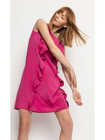 Deni Cler Sukienka w kolorze różowym
