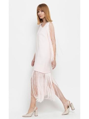 Deni Cler Sukienka w kolorze jasnoróżowym