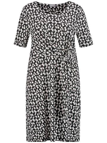 SAMOON Sukienka w kolorze biało-czarnym