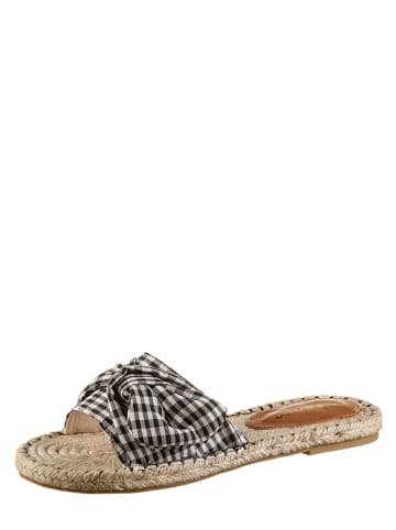 "Kamoa Slippers ""Breeze"" zwart/wit"