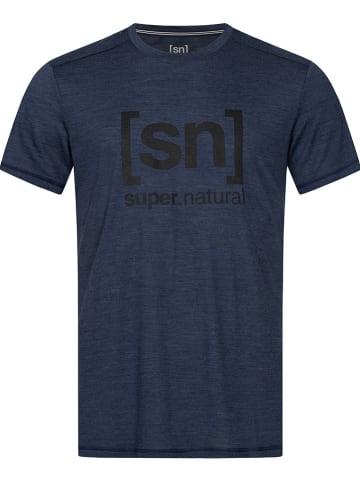 Super.natural Trainingsshirt in Dunkelblau
