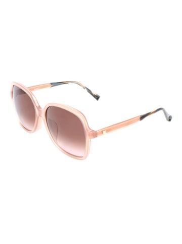 """Max Factor Okulary przeciwsłoneczne """"Light V"""" w kolorze jasnoróżowym"""