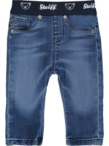 Steiff Dżinsy w kolorze niebieskim