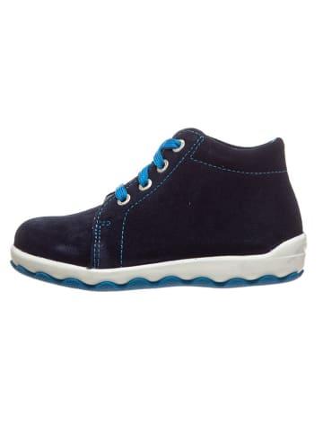 "Lurchi Leder-Sneakers ""Ipsy"" in Dunkelblau"
