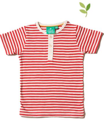 Little Green Radicals Koszulka w kolorze czerwono-beżowym