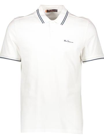 Ben Sherman Poloshirt in Weiß
