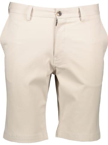 Ben Sherman Szorty - Straight Fit - w kolorze beżowym