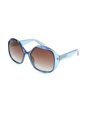 Marc Jacobs Dameszonnebril blauw/bruin