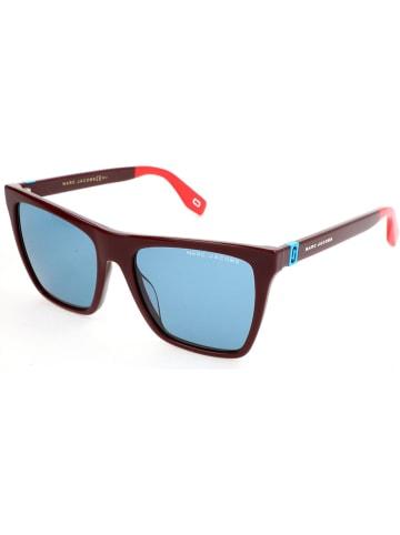 Marc Jacobs Damen-Sonnenbrille in Bordeaux/ Blau