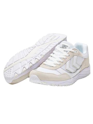 """Hummel Sneakersy """"3-S"""" w kolorze biało-beżowym"""