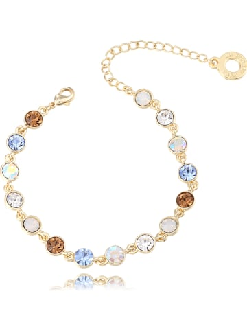Park Avenue Vergulde armband met Swarovski-kristallen