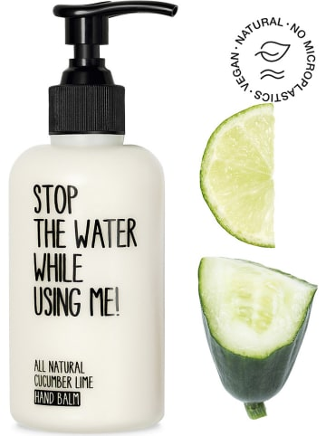 """STOP THE WATER WHILE USING ME! Handcrème """"Cucumber Lime"""", 200 ml"""
