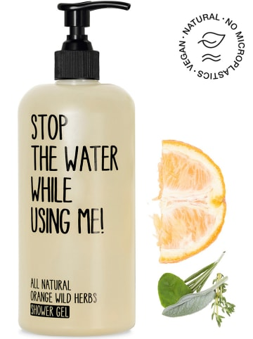 "STOP THE WATER WHILE USING ME! Douchegel ""Orange Wild Herbs"", 500 ml"