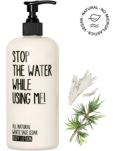 """STOP THE WATER WHILE USING ME! Bodylotion """"White Sage Cedar"""", 500 ml"""
