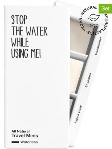 "STOP THE WATER WHILE USING ME! 3-delige verzorgingsset ""Waterless Travel"", elk 40 g"