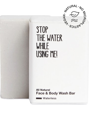"""STOP THE WATER WHILE USING ME! Face & body wash-bar """"Waterless Edition"""", 110 g"""
