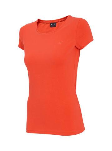 4F T-shirt w kolorze pomarańczowym