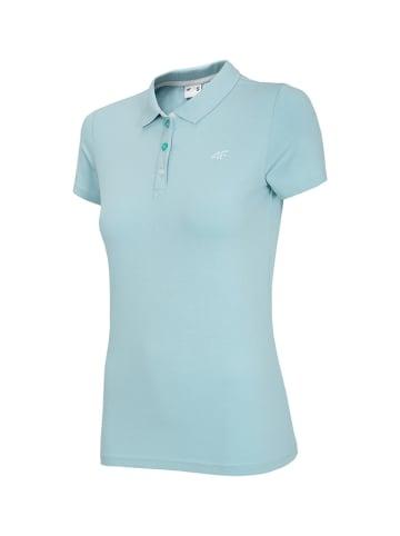 4F Poloshirt lichtblauw