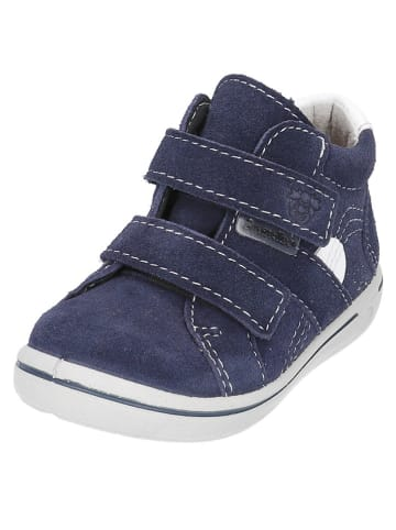 "PEPINO Leder-Sneakers ""Liam"" in Dunkelblau"
