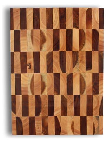 Ogo Living Deska w kolorze brązowym do krojenia - 43 x 31 cm